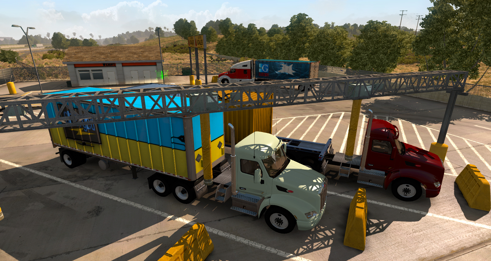Weigh Stations: New feature in American Truck Simulator