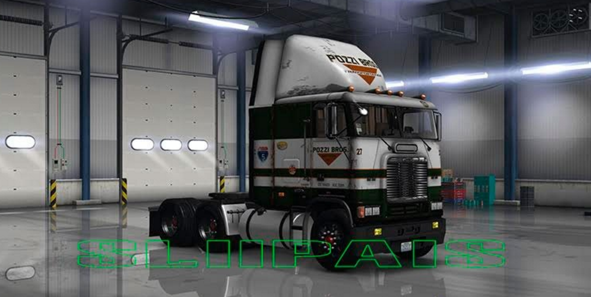 Freightliner Flb Pozzi Skin Ats Mod American Truck