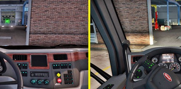 Peterbilt Interior Lighting V 1 1 Ats Mod American Truck Simulator Mod