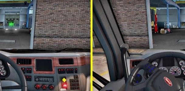 Peterbilt Interior Lighting Ats Mod American Truck Simulator Mod