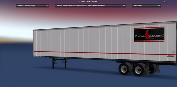 Stevens Transport Ats Mod American Truck Simulator Mod