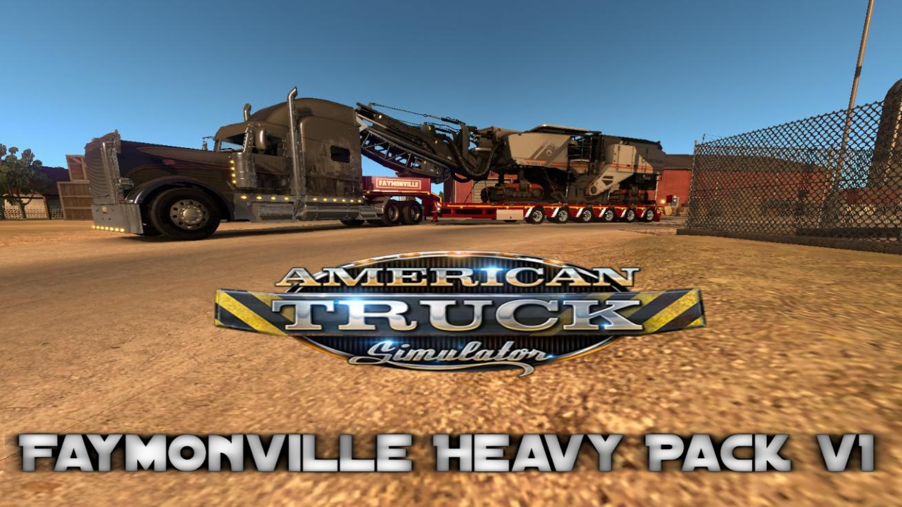 Image Result For Faymonville Heavy Pack V For Ats Mod American Truck