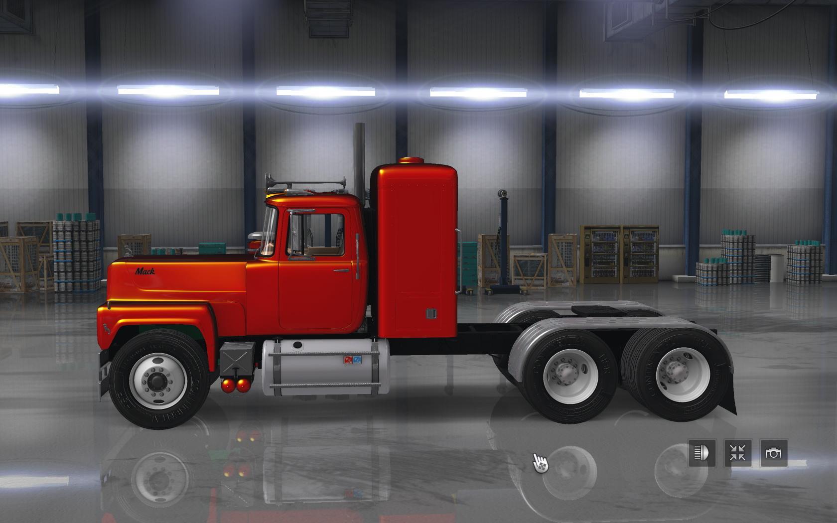 MACK RS 700 & RS 700 RUBBER DUCK TRUCK MOD ATS 1.6.X - ATS mod ...