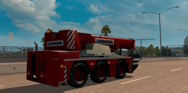 Ai Traffic Cranetruck For Ats 1 2 X By Solaris36 Ats Mod